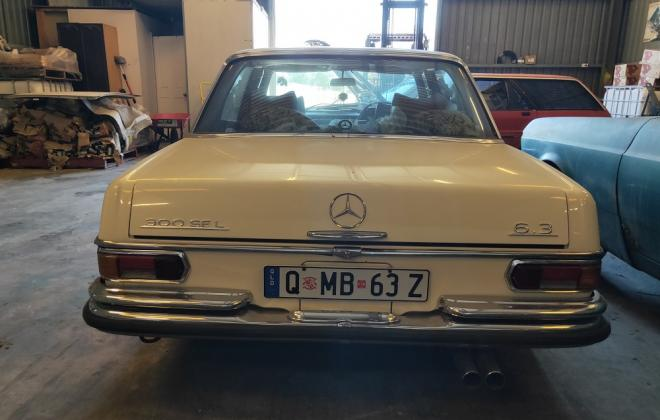 For sale - 1969 Mercedes 300SEL 6.3 Sedan White Australia RHD W108 W109(5).jpg