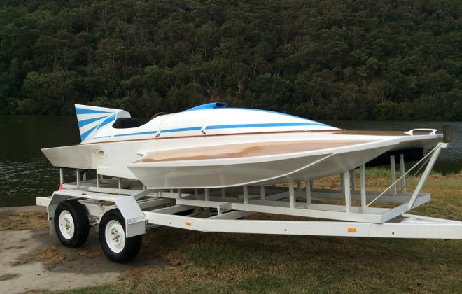 For sale - 1970s Hydroplane speed boat Sydney Australia NSW (1).JPG