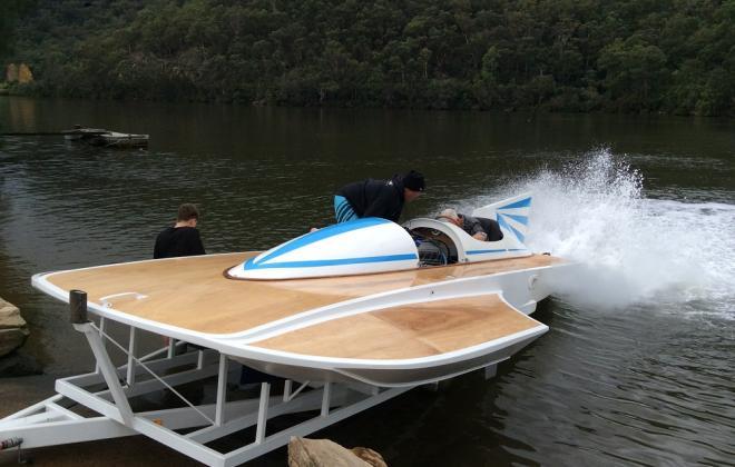 For sale - 1970s Hydroplane speed boat Sydney Australia NSW (13).JPG
