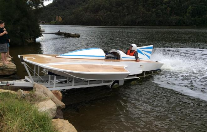 For sale - 1970s Hydroplane speed boat Sydney Australia NSW (5).JPG
