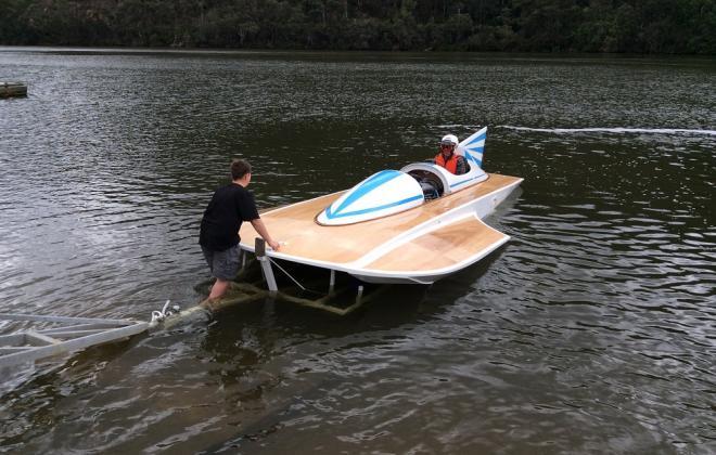 For sale - 1970s Hydroplane speed boat Sydney Australia NSW (6).JPG