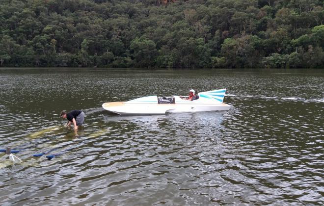 For sale - 1970s Hydroplane speed boat Sydney Australia NSW (7).JPG