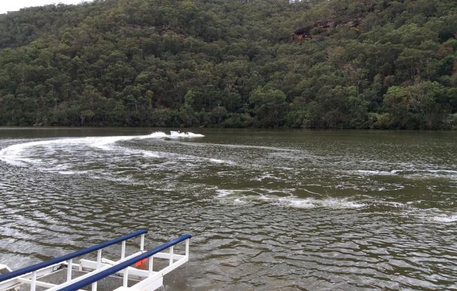 For sale - 1970s Hydroplane speed boat Sydney Australia NSW (9).JPG