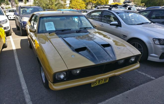 For sale - 1975 Ford Falcon XB GT sedan Tropic Gold images Sydney  (1).jpg