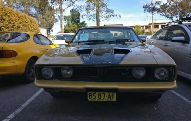 For sale - 1975 Ford Falcon XB GT sedan Tropic Gold images Sydney  (2).jpg