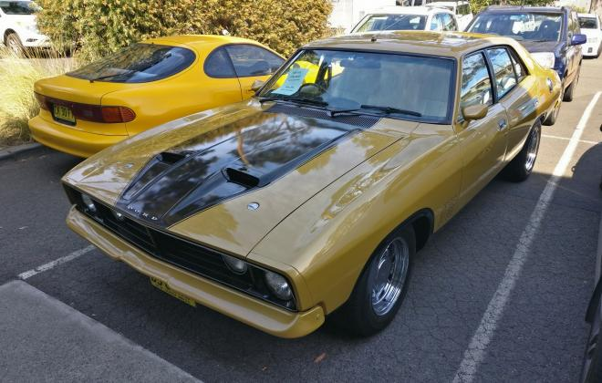 For sale - 1975 Ford Falcon XB GT sedan Tropic Gold images Sydney  (3).jpg