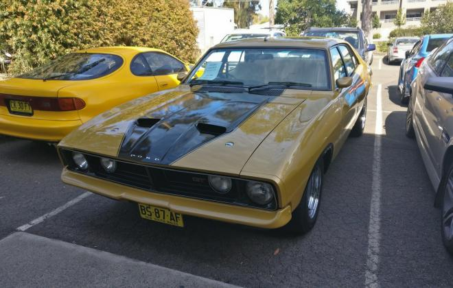 For sale - 1975 Ford Falcon XB GT sedan Tropic Gold images Sydney  (55).jpg