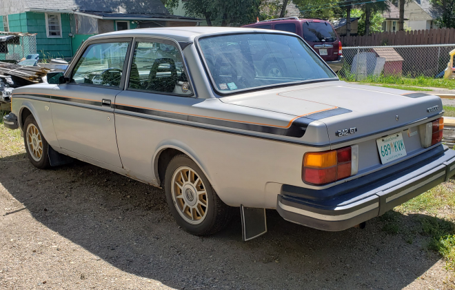 For sale - 1979 Volvo 242 GT Coupe silver Canada images 2021 (5).png