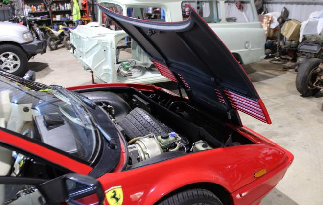 For sale - Australian delivered 1985 Ferrari Mondial Quattrovalvole Red NSW images (120).jpg