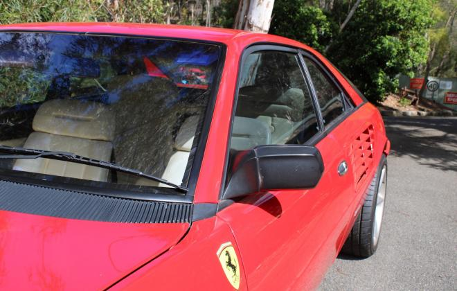 For sale - Australian delivered 1985 Ferrari Mondial Quattrovalvole Red NSW images (16).jpg