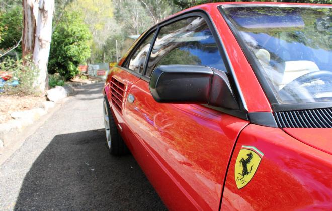 For sale - Australian delivered 1985 Ferrari Mondial Quattrovalvole Red NSW images (17).jpg