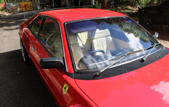 For sale - Australian delivered 1985 Ferrari Mondial Quattrovalvole Red NSW images (19).jpg