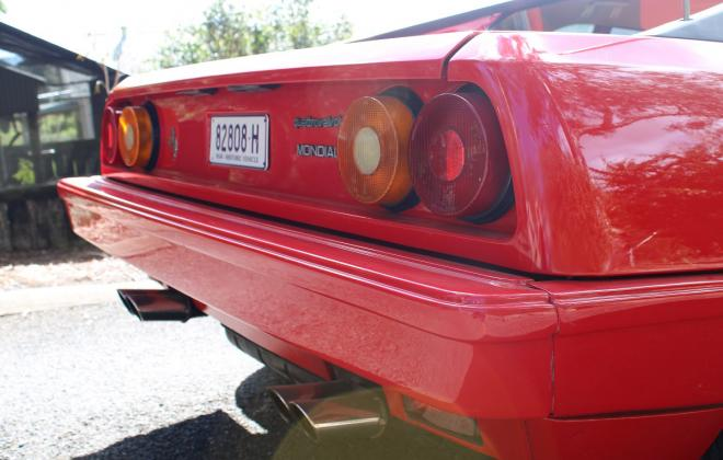 For sale - Australian delivered 1985 Ferrari Mondial Quattrovalvole Red NSW images (28).jpg