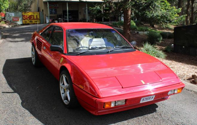 For sale - Australian delivered 1985 Ferrari Mondial Quattrovalvole Red NSW images (4).jpg