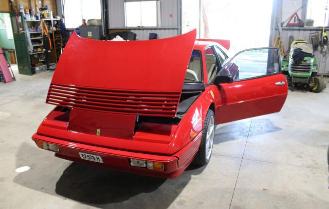 For sale - Australian delivered 1985 Ferrari Mondial Quattrovalvole Red NSW images (69).jpg