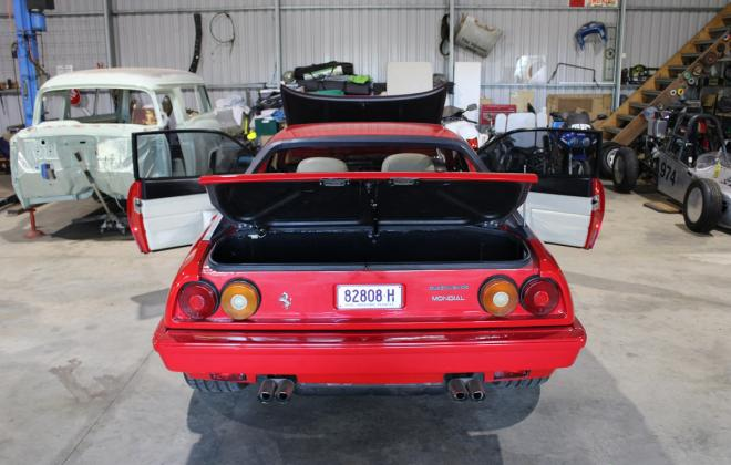 For sale - Australian delivered 1985 Ferrari Mondial Quattrovalvole Red NSW images (70).jpg