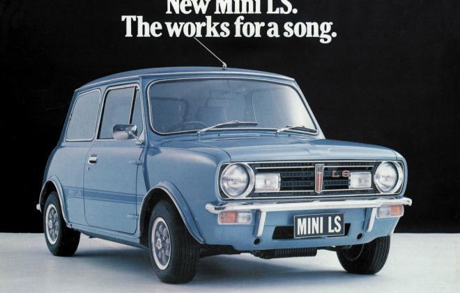 For sale - Leyland Mini LS 998cc Blue restoration images (4).JPG