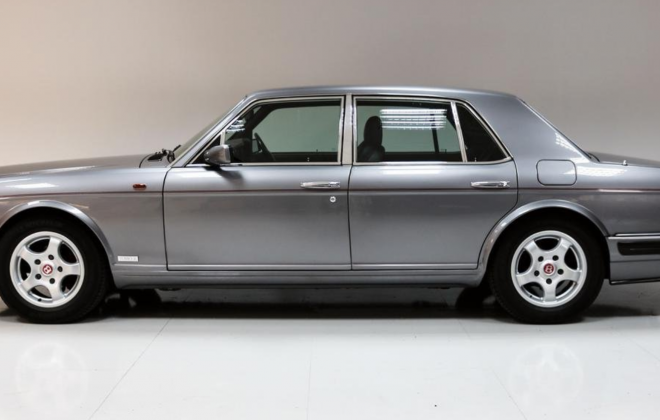 For sale - right hand drive 1996 Bentley Turbo R silver (1).png