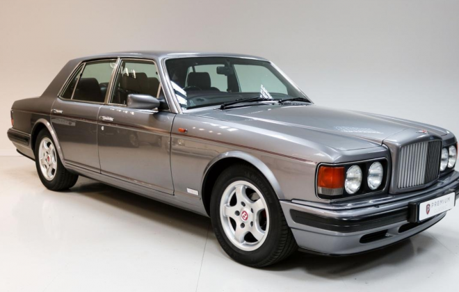 For sale - right hand drive 1996 Bentley Turbo R silver (10).png