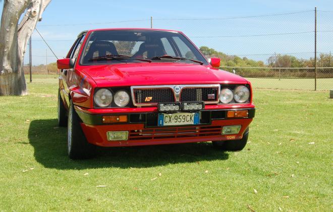 For sale 1990 Lancia Delta Integrale 16v Monza Red Australia (2).jpg