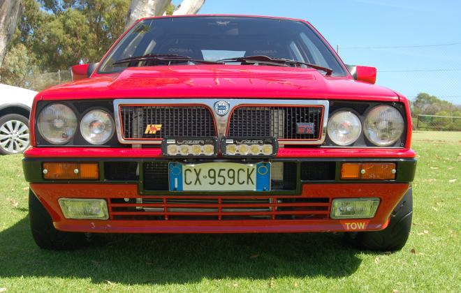 For sale 1990 Lancia Delta Integrale 16v Monza Red Australia (5).jpg