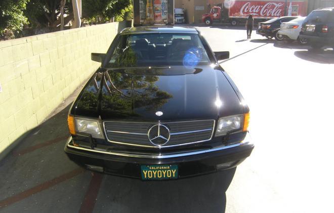 For sale 1991 Mercedes 560 SEC coupe C126 Pasadena California black (1).JPG