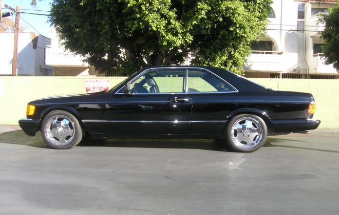 For sale 1991 Mercedes 560 SEC coupe C126 Pasadena California black (3).JPG