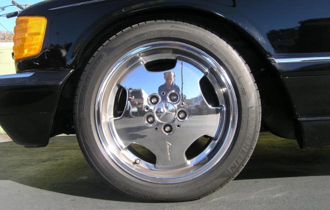 For sale 1991 Mercedes 560 SEC coupe C126 Pasadena California black (6).JPG