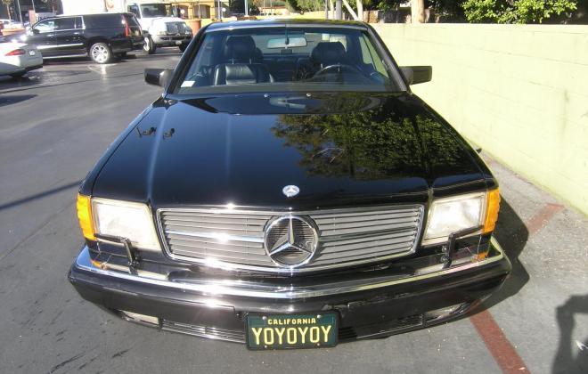 For sale 1991 Mercedes 560 SEC coupe C126 Pasadena California black (8).JPG