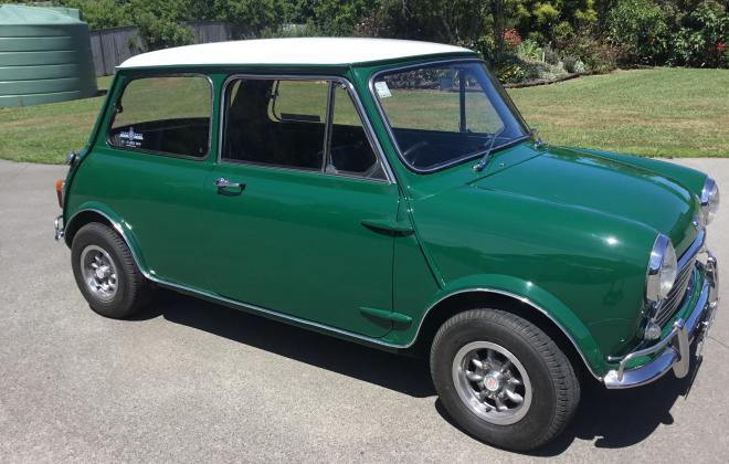 For sale Morris Mini Cooper S MK2 1969 NZ Australia GTO Green (1).jpg
