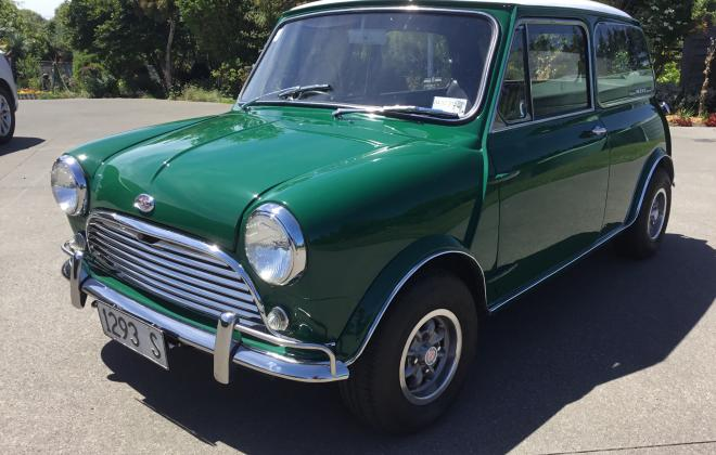 For sale Morris Mini Cooper S MK2 1969 NZ Australia GTO Green (5).jpg
