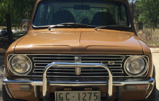 For sale Nugget Gold Leyland Mini 1275 LS for sale (1).png