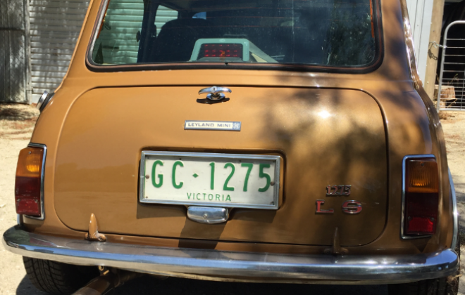 For sale Nugget Gold Leyland Mini 1275 LS for sale (2).png