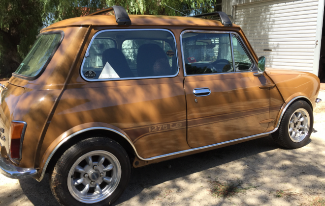 For sale Nugget Gold Leyland Mini 1275 LS for sale (3).png