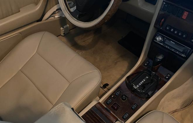 Interior images Mercedes W124 convertible for sale USA SC (1).png