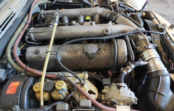 Mercedes W109 6.3 300SEL for sale Australia engine images (10).jpg