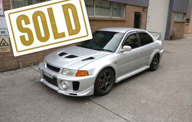 Sold Lancer Evolution 5 Evo V Sydney Silver.png